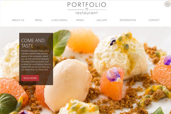 Responsive Restaurant Website